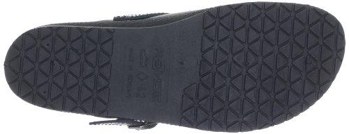 1084 Black Slip on Schwarz Frauen Rohde 90 4x6w5qn
