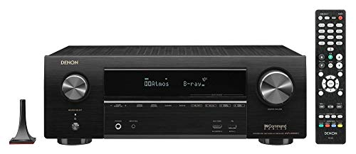 AVR-X1600H 7.2-Ch x 80 Watts A/V Receiver w/HEOS (Renewed)