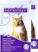 12 MONTH Advantage II Flea Control Large Cat (for Cats over 9 lbs.) by Bayer Animal Health