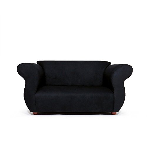 KEET Fancy Kid's Sofa, Black by Keet
