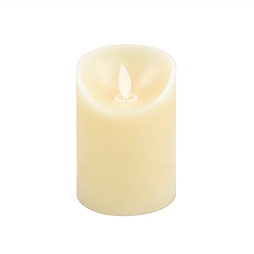 iDOO Real Wax Flameless LED Candle Moving Wick with Velvety Vanilla Scent for Home/Party/Halloween/Wedding Decor and Celebration - 3