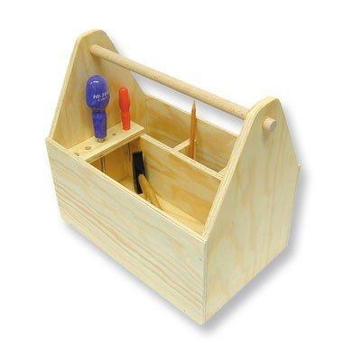 Kinder Werkzeugkiste selber bauen - Bausatz Werkzeugkiste