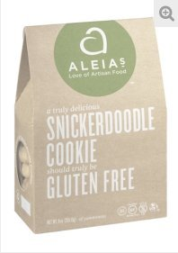 Aleia's Gluten Free Snickerdoodle Cookies 9-ounce (Pack of 1) by Aleias