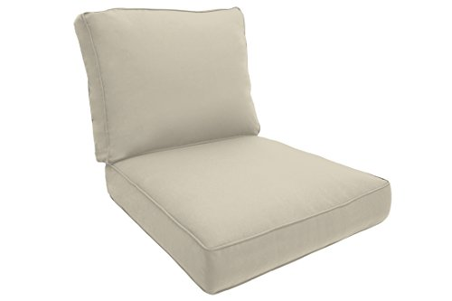 Easy Way Products Double Piped Sewn Closed Deep Lounge Seating, 23