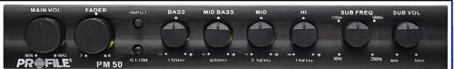 (Profile PM50 - 4 Band Parametric Equalizer with Sub Crossover)