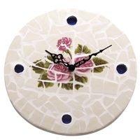 Mintcraft M57003 Rose Mosaic Outdoor Clock, 12