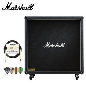 Marshall 1960BV 280W 4x12 Guitar Extension Cabinet Kit - Includes Cable & Pick Sampler