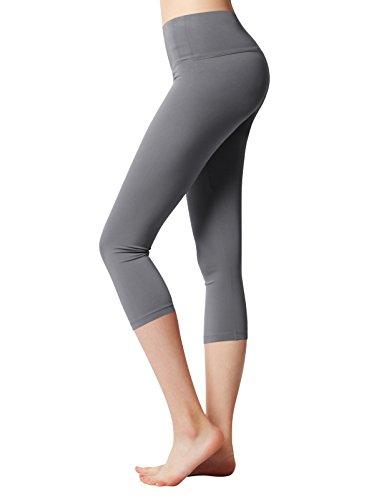 ACTICLO Yoga Pants High Waist Tummy Control Sports Running Workout Power Flex Leggings Hidden Pocket Plus size(XS-3XL)