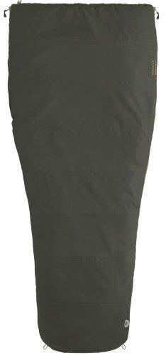 Marmot Mavericks 30 Semi Rec Synthetic Sleeping Bag, Regular-Left, Green, Outdoor Stuffs