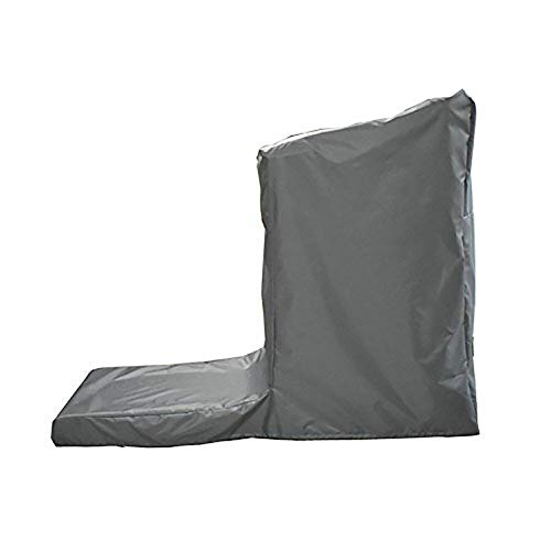 Protective Exercise Treadmills Cover, Weather Resistant Running Machine Cover, Heavy Duty Cardio Traning Fitness Equipment Cover for Indoor and Outdoor Using (L: 81'' Long x 37'' Wide x 67'' High) by Hersent