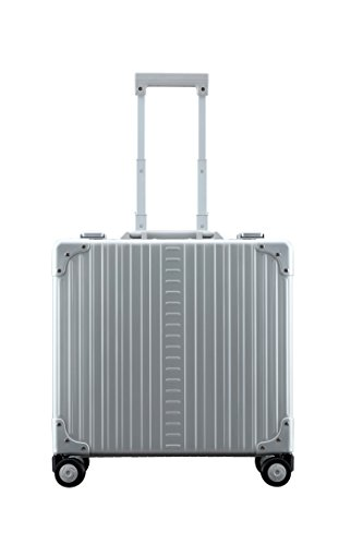 Aleon 17'' Deluxe Rolling Wheeled Aluminum Hardside Business Briefcase (Platinum) Silver by ALEON (Image #5)