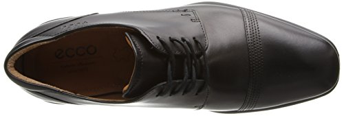 Ecco Cairo Mannen Derby Lace Up Brogues Zwart
