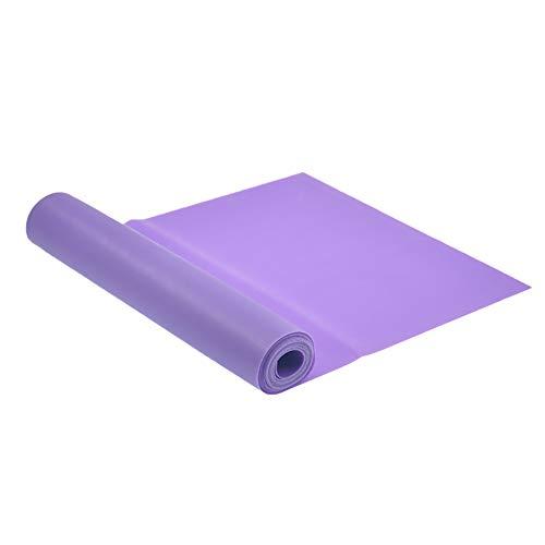 Belavig Bandas Anchas de Resistencia de Pilates 1,5 m / 2 m 5 pies 8 pies Fitness Assist Bands Entrenamiento Yoga Ejercicio...