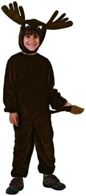 Atosa-98451 Disfraz Reno Niño Infantil-Tall, color negro, 10 a 12 ...
