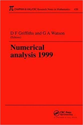 numerical analysis griffiths d watson g a