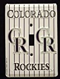 HangTime Colorado Rockies Light Switch Covers (single) Plates LS10026