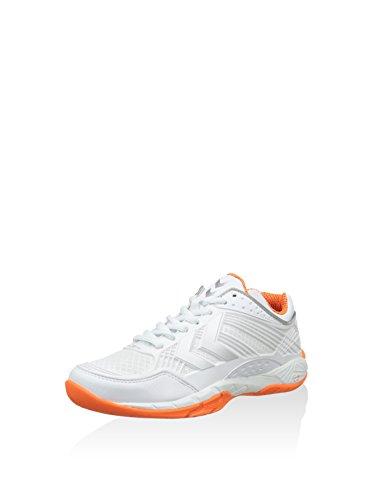 Hummel omnicourt z8 flexshield wO chaussures indoor chaussures de handball orange/blanc modèle 2015
