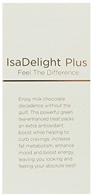 Isagenix IsaDelight Milk Chocolate with Sea Salt and Caramel flavor,0.4 oz(30ct)