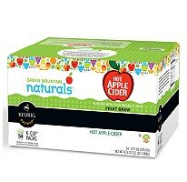 54 Count - Green Mountain Naturals Hot Apple Cider K-Cup Pack for Keurig K-Cup Brewers - Made from real apples by Green Mountain Coffee