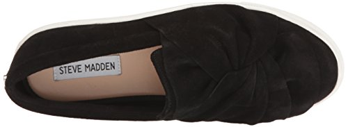 Steve Madden Women's Knotty Fashion Sneaker Black Suede for sale cheap sale with credit card browse online pick a best cheap price wide range of cheap online kINDBFaa