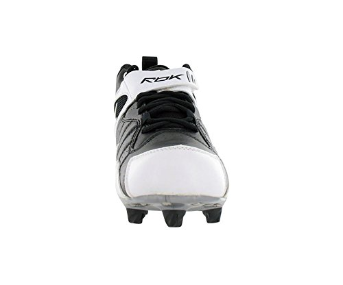 Pro Out Football All White MID Mens Reebok Shoe One D Black SqgFndw