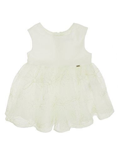 Mayoral 28-01914-010 - Tulle Dress for Baby-Girls 18 Months Champagne