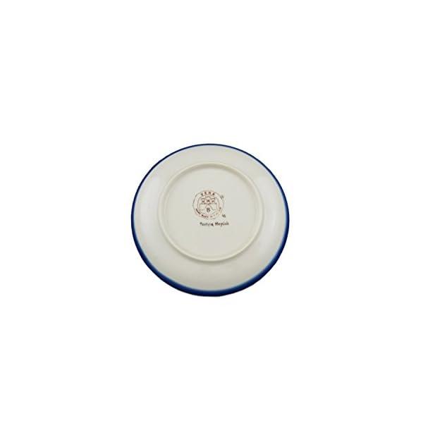 Boleslawiec Style Pottery Hand Painted Polish Ceramic Nina dessert plate (19) 132-C-008