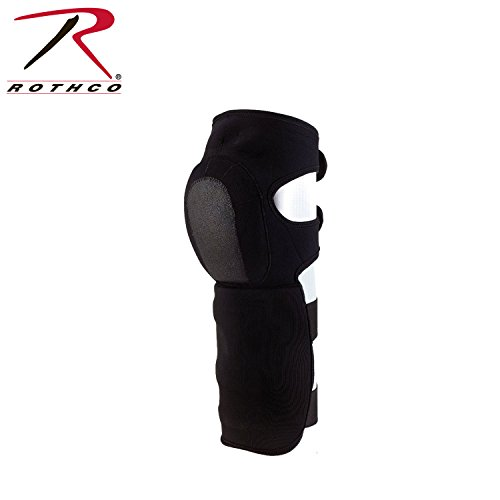 Rothco Neoprene Shin Guards, Black - Neoprene Knee Shin Guard