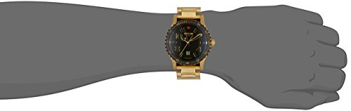 Nixon A277-513 Mens Diplomat SS Gold Black Watch by NIXON (Image #3)