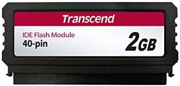 Transcend 2GB Pata Memoria Flash IDE SLC - Tarjeta de Memoria (2 ...