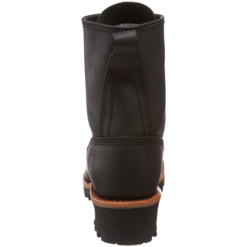 Chippewa Mens 8 Composite-Toe Logger Boot Black Oiled BnvsM4U