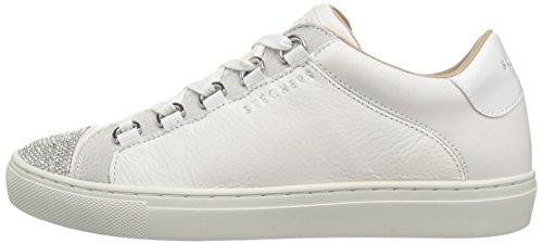 Street Color Side Plateado Skechers 0 Talla El 36 Blanco 73531WHT C6qddwOv