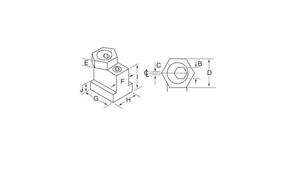 9//16in MiTee-Bite Products 10643 T-Slot Kit
