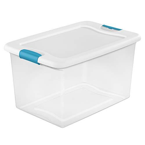 Sterilite 64 Qt Latching Box, White