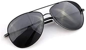 نظارة شمسية بولاريزد للرجال UV400 نظارة شمسية بايلوت درايفر لون أسود