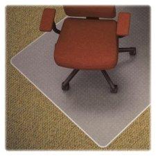 Lorell Chair Mat, Medium Pile, Rectangular, 46