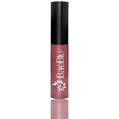 Best Organic 100% Natural Vegan Hydrating Antioxidant-Rich Lip Gloss, Made in USA by BaeBlu