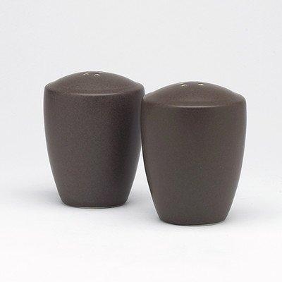 - Noritake Colorware Salt and Pepper Shakers, Chocolate