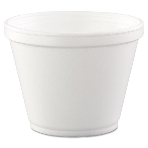 Dart Insulated Foam Food Container, White, 12 oz., 500 Cups Per Carton