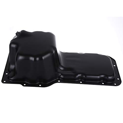 SCITOO Compatible with 264-243 Engine Oil Pan Steel Assembly Fits 99-04 V8 4.7L Cummins Diesel Dodge Ram 1500 Truck Jeep Grand Cherokee Pickup Truck