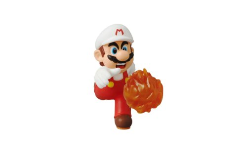 Medicom Nintendo Super Mario Bros. Ultra Detail Figure Series 2: New Super Mario Bros. U: Fire Mario UDF Action Figure