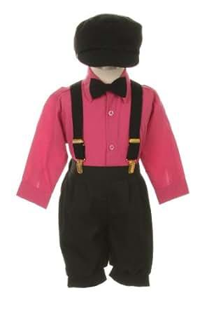 Amazon Com Vintage Dress Suit Bowtie Suspenders