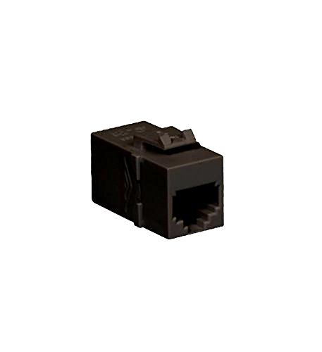 - ICC Module Coupler RJ-11, PIN 1-6, Black