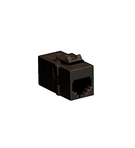 - ICC Module Coupler RJ-11, PIN 1-6, Black