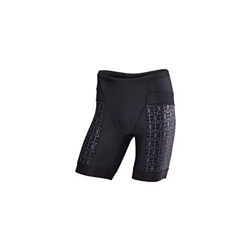 TYR Competitor 9in Tri Short - Men's Black/Black, M