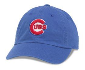 fan products of Chicago Cubs MLB Baseball Cap One Size American Needle Cotton Twill Royal