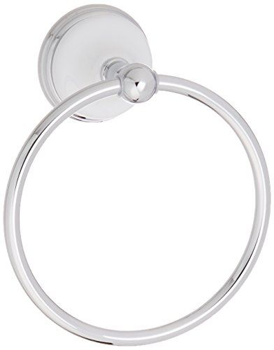 - Kingston Brass BA1114C Victorian 6-Inch Towel Ring, Polished Chrome