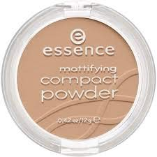 Complexion Matt - ESSENCE Mattifying Compact Powder 02 Soft Beige 12g -its Delicate, powdery Texture Spreads smoothly for a Natural, matt Complexion as if Created by a Professional Make-up Artist