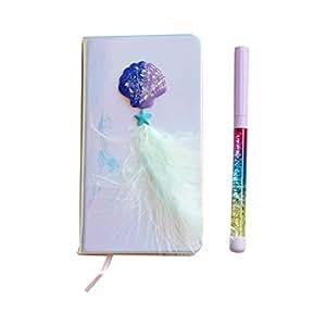 Kawaii - Bloc de notas con pluma mágica para diario y ...