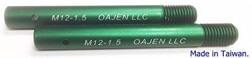 Oajen wheel hanger wheel bolt, pack of 2, M12 - 1.5, for (Bmw Wheel Studs)